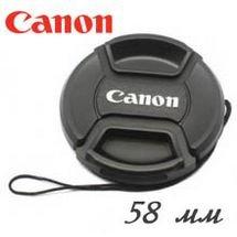 Canon lens cap 58 mm