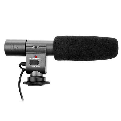NEW-SG-108-DV-Stereo-Microphone-for-DSLR-Canon