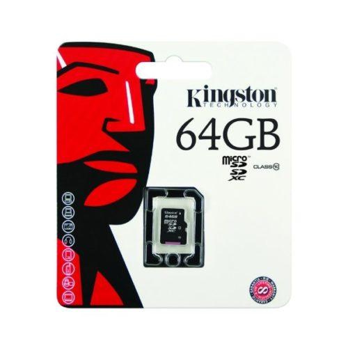 MemkMicroSDHSKingston64GBClass10