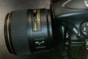 Первое изображение нового Nikon 105mm F1.4E ED