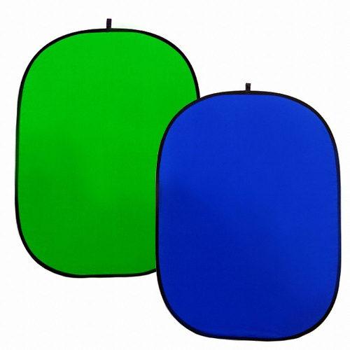 Фон хромакей Hylow 150x200 синий/зеленый