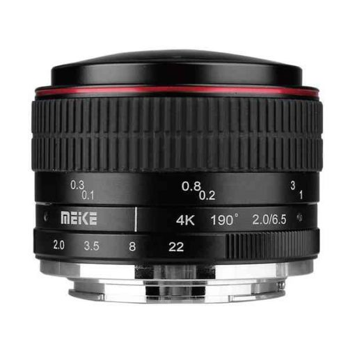 Meike 6 mm F2.0 fisheye