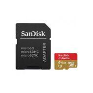 Карта памяти micro SDXC 64Gb Sandisk Extreme Class 10 UHS-I