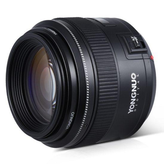 Yongnuo YN 85 mm F1.8 для Canon