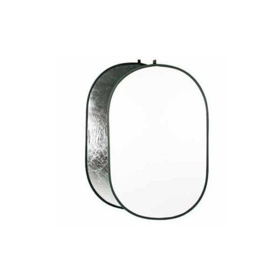 Отражатель Hylow серебро/белый 102х168 см