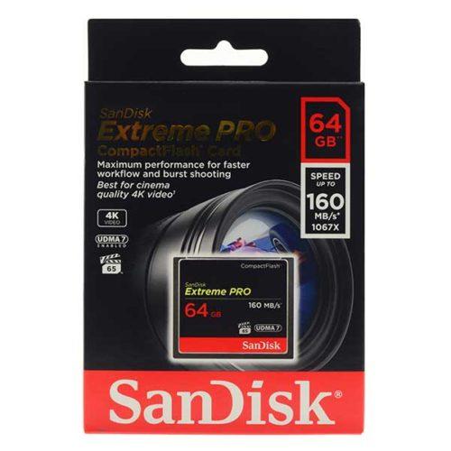 Карта памяти CF 64Gb Sandisk Extreme Pro-2