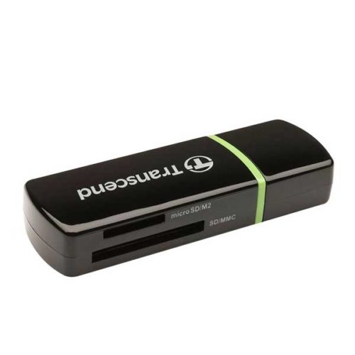 Картридер Transcend TS-RDP5K USB 2.0 черный