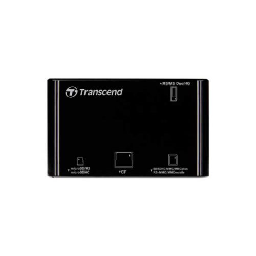 Картридер Transcend TS-RDP8 All-in-1 USB2.0 черный-2