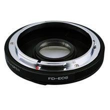 Переходник PIXCO Canon FD - Canon EOS с линзой