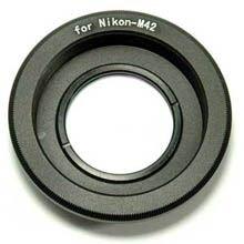 Переходное кольцо PIXCO M42 - Nikon с линзой