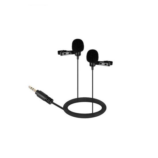 Двойной петличный конденсаторный микрофон BOYA BY-LM300
