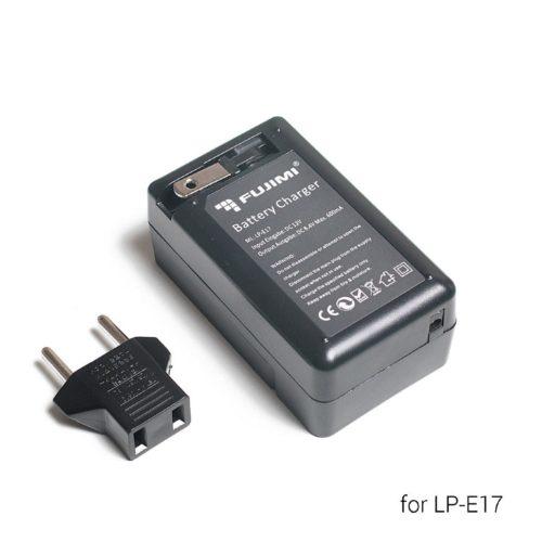 Аккумулятор Fujimi для Canon LP-E17+ ЗУ 3