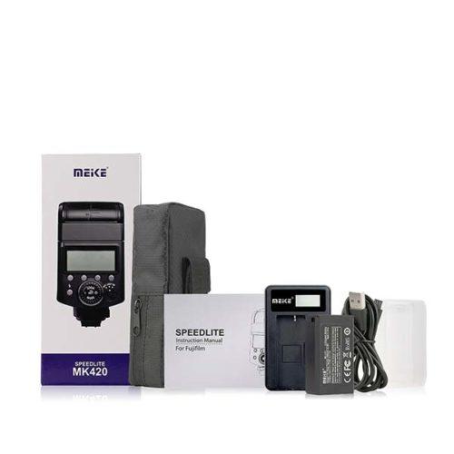 Компактная вспышка Meike MK420 для Fuji-1