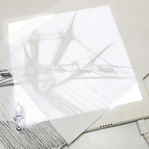 Планшет с LED подсветкой для копирования и рисования
