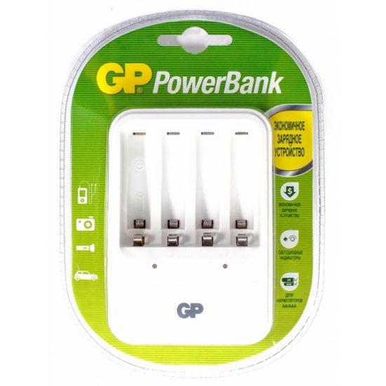 Зарядное устройство GP PB420GS-2CR1 для 2-4 AAА, AA
