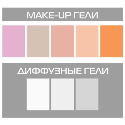 Make-up гели (8 шт) Strobtools ST-1316-2