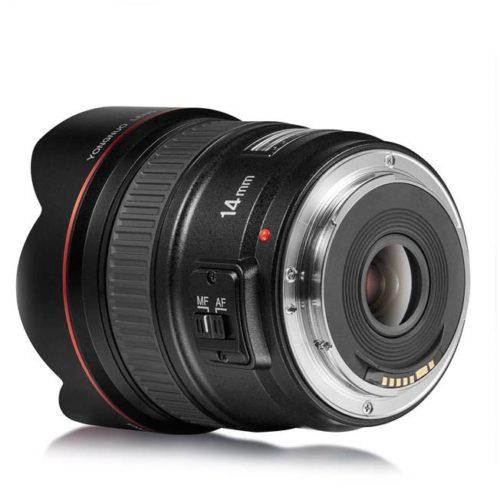 Объектив Yongnuo YN14mm F2.8 для Canon 3