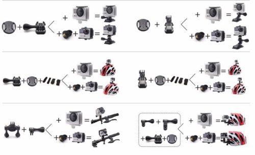 Экшн-камера Eken H8 Pro 6