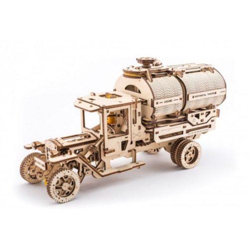 Деревянный 3D конструктор UGEARS Автоцистерна