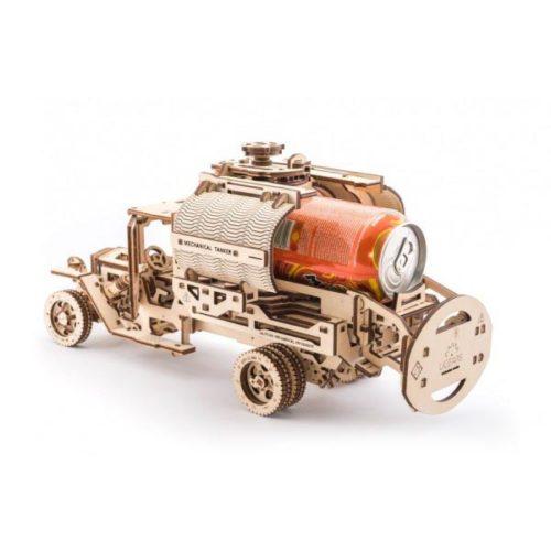 Деревянный 3D конструктор UGEARS Автоцистерна-7