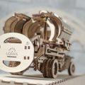 Деревянный 3D конструктор UGEARS Автоцистерна-8