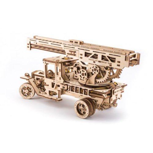 Деревянный 3D конструктор UGEARS Пожарная лестница-1