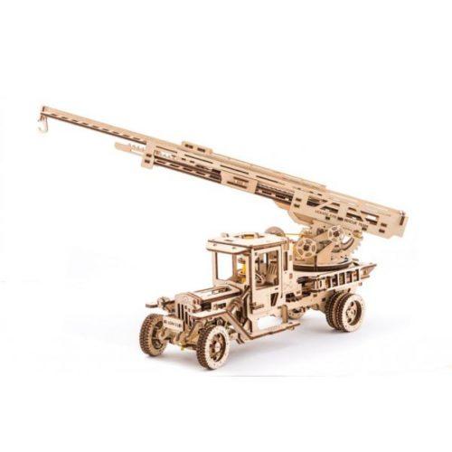 Деревянный 3D конструктор UGEARS Пожарная лестница