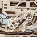 Деревянный 3D конструктор UGEARS Пожарная лестница-5