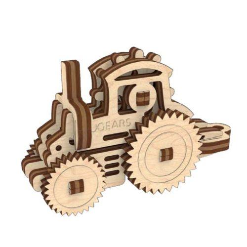 Деревянный 3D конструктор UGEARS Фиджет Транспорт-5