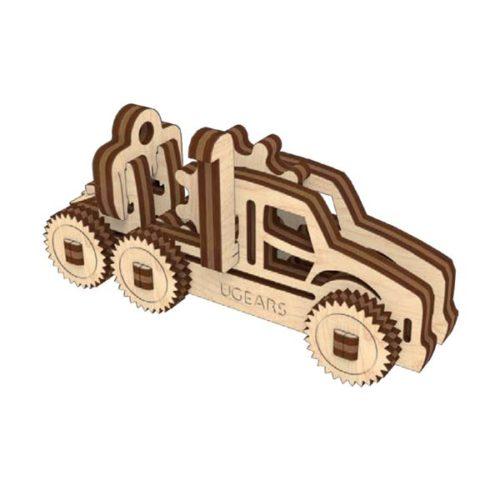 Деревянный 3D конструктор UGEARS Фиджет Транспорт-6