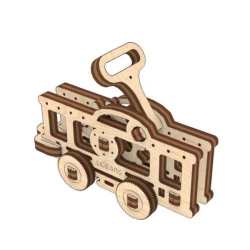 Деревянный 3D конструктор UGEARS Фиджет Транспорт-7