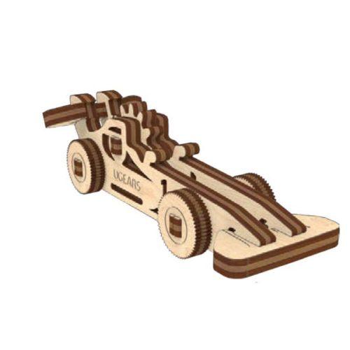 Деревянный 3D конструктор UGEARS Фиджет Транспорт-8