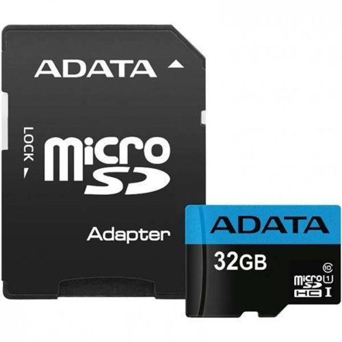 Карта памяти micro SDHC 32Gb A-Data Premier UHS-I U1 + ADP (85/25 Mb/s)