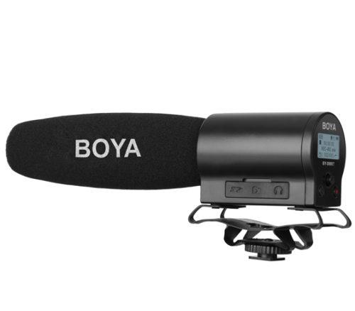 Микрофон-пушка с рекордером Boya BY-DMR7