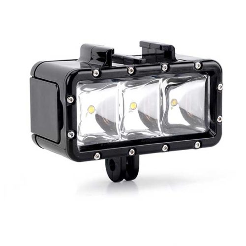 LED осветитель подводный для экшен камеры