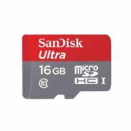 Карта памяти microSDHC 16Gb Sandisk Ultra Class 10 UHS-I + адаптер (80/10 MB/s)