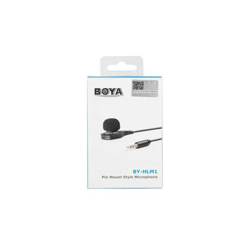 Булавочный петличный микрофон BOYA BY-HLM1-3