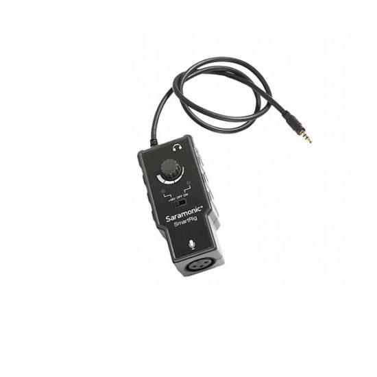 Микрофонный адаптер Saramonic SmartRig II для ipad iphone