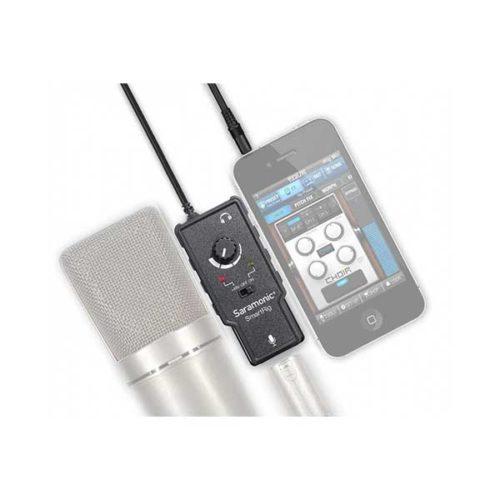 Микрофонный адаптер Saramonic SmartRig II для ipad iphone-2