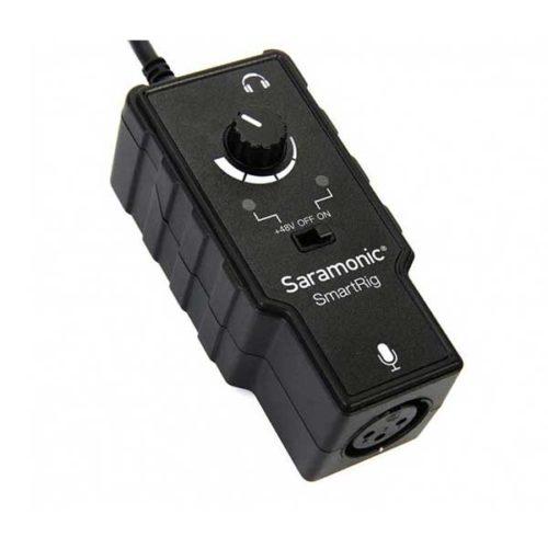 Микрофонный адаптер Saramonic SmartRig II для ipad iphone-3