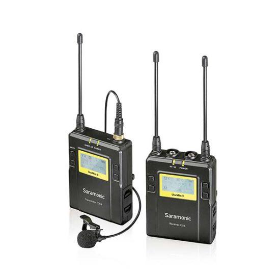 Петличная радиосистема UHF Saramonic UwMic9 (1TX+RX)
