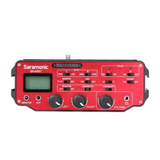 Микрофонный аудио микшер с предусилителем Saramonic AX-107