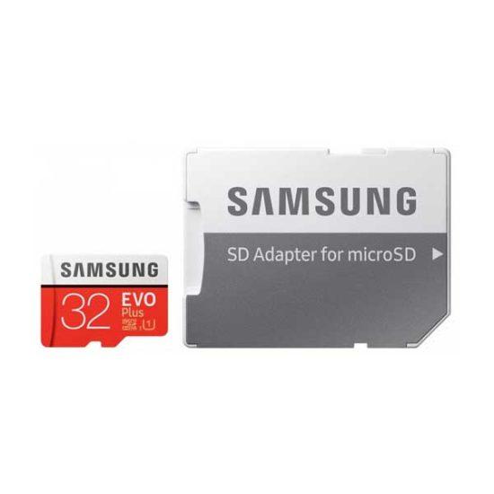 Карта памяти micro SDHC 32Gb Samsung EVO Plus V2 UHS-I + ADP (95/20 Mb/s)