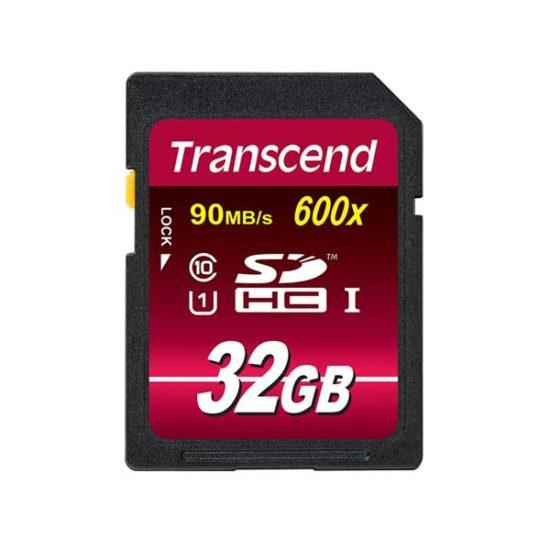 Карта памяти SDHC 32GbTranscend Class 10 UHS-I (90/40 MB/s)