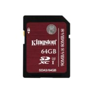 Карта Памяти SDXC 64Gb Kingston Class 10 UHS-I U3 (90/80 MB/s)