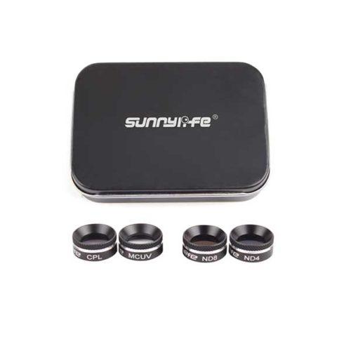 Набор фильтров 4 шт Sunnylife для Mavic AIR (MCUV+CPL+ND4+ND8)