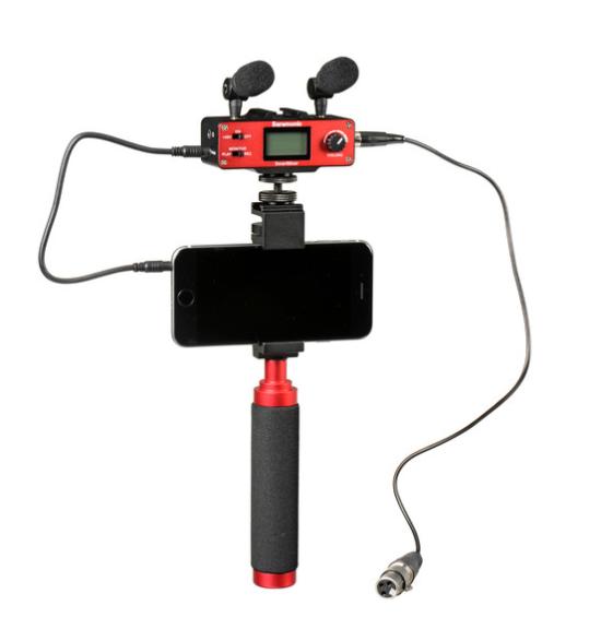 Микрофонный аудио микшер для смартфона Saramonic SmartMixer