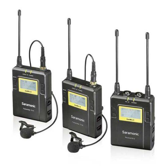 Петличная радиосистема UHF Saramonic UwMic9 (2TX+RX)
