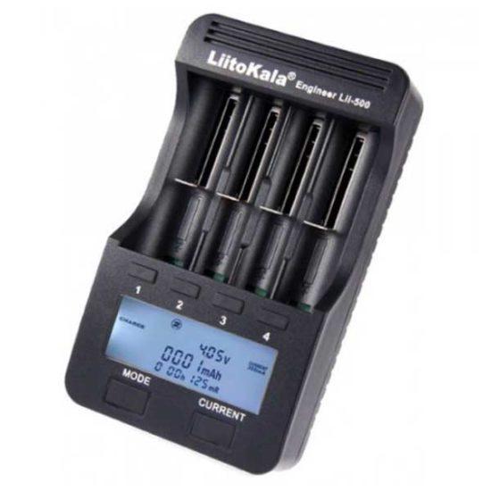 Зарядное устройство для Li-ion аккумуляторов Liitokala Lii-500