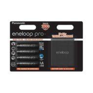 Аккумуляторы Panasonic Eneloop PRO AA 2500 mAh 4 шт + кейс